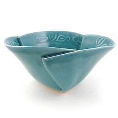 Hilborn Pottery Turquoise Soup/Salad/Breakfast Bowl