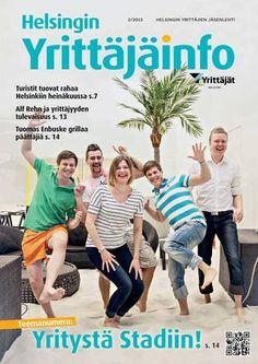 Helsingin YrittäjäInfo 2/2013 - Samulin haastattelu sivulla 18.