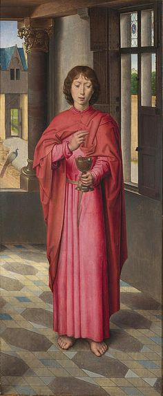 Saint John The Evangelist  Hans Memling
