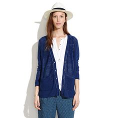Find everything but the ordinary Blue Cardigan, The Ordinary, Madewell, Anthropologie, Sporty, Denim, Sweaters, Jackets, Fig