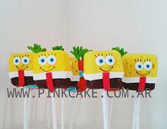Cakepops Bob Esponja