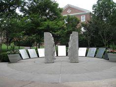 World War II Memorial, College Avenue Campus