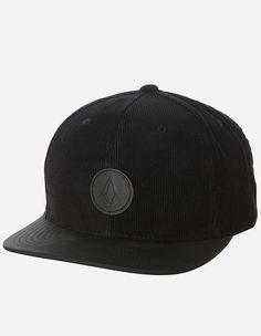 Volcom - Quarter Fabric Cap ink black