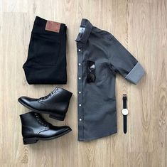 100 Best Smart Casual Outfit Ideas for Men This Year - The Hust Business Casual Attire For Men, Trajes Business Casual, Men's Business Outfits, Business Formal, Professional Attire, Business Fashion, Best Smart Casual Outfits, Smart Casual Men, Fashionable Outfits