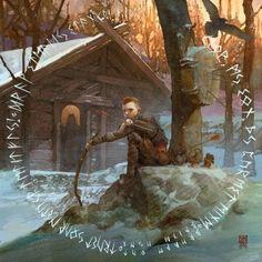 God of War 4 concept art not originally mine