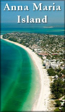 Anna Maria Island, FL 7miles long, less than a mile wide.  Where I will be in September!