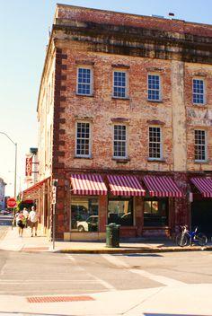 Savannah, Georgia. This is Paula Deen's The Lady & Sons restaurant.