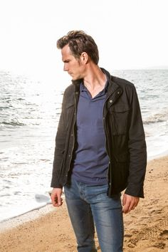 Instyle Magazine UK:  5 Reasons We're Watching Broadchurch. Well, I only need two - James d'Arcy and David Tennant.