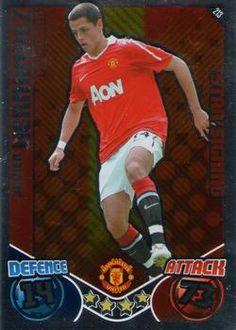 2010-11 Topps Premier League Match Attax #213 Javier Hernandez Front