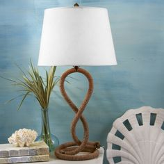 Two's Company: Twisted Rope Lamp