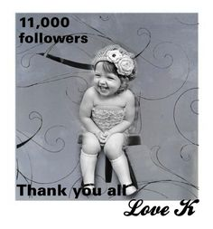 """""""I have all you to thank for the 11,000 followers.   Love you all.   Karla"""" by barebear1965 ❤ liked on Polyvore featuring art"""