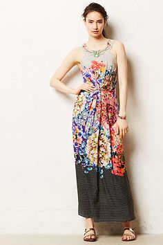 Mother of the Bride dress! Anthropologie - Arnala Maxi Dress