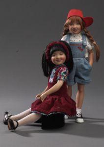 """Kish and Company :: Allison and Emmy Lou 10.5"""""""