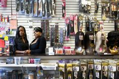 Black Women Find a Growing Business Opportunity: Care for Their Hair.  Interesting article from an entrepreneurial standpoint.  Investigates link between supply chains and business owners, online business development, and consumer decision-making on where to shop.