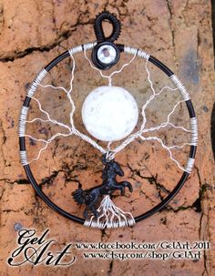 """Game of Thrones inspired pendant """"Moon of My Life"""""""