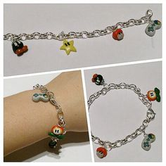 Check out this item in my Etsy shop https://www.etsy.com/listing/179922322/super-mario-charm-bracelet-limited-time
