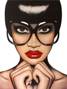 Anja Van Herle - Red Lips, Fingertips | 1stdibs.com