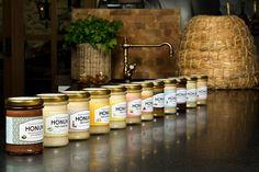 Smaksatt honung från Djäknegårdens Honung www.naturensguld.se