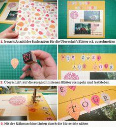 DIY Tutorial von Wiebke Hahn für www.danipeuss.de | Drei Techniken für individuelle Layout-Titel