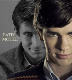 Bates Motel's Vera Famiga and Freddie Highmore pose for ...