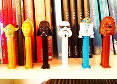 The complete Star Wars PEZ 2016 collection. Home library april 2016. #starwars #maytheforcebewithyou #alongtimeago #agalaxyfarfaraway #georgelucas #pez #pezstarwars #pezcandy #yoda #r2d2 #stormtrooper #darthvader #chewbacca #chewie #c3po #l4l #tbt #like4follow #likeforlike #picoftheday #photooftheday #tagforlikes #tagforlike #instalove #instalike #instagood #followmeback #followback #followme #home by dove.woods