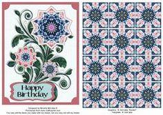 7 Best Tea Bag Folding Images Tea Tiles Blank Cards