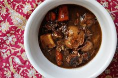Might be the recipe I used last winter? Guinness Beef Stew with chocolate.