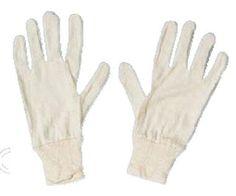 Gants coton poignet tricot - Code produit: 239768 - Cliquez sur la photo pour voir la fiche produit