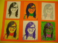 8th Grade Art Class - Goodrich Middle School Art