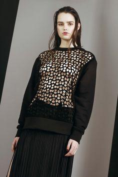 London Fashion Week London Fashion, Catwalk, Horror, High Neck Dress, Concept, Blouse, Long Sleeve, Sleeves, Tops