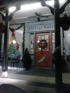The Village Bakery in downtown West, TX.  The first authentic Czech Kolache bakery in Texas!