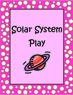 This 8 page Solar System Play is one I wrote for my class as an end of the year performance for parents and students. It's filled with good scientific information about the sun, moons, planets and other space objects but even better, it's entertaining and fun!