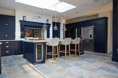 Project 23 – Guilford – The Main Company Kitchen Room Design, Kitchen Family Rooms, Modern Kitchen Design, Home Decor Kitchen, Kitchen Layout, Interior Design Kitchen, Home Kitchens, Closed Kitchen Design, Living Room Kitchen