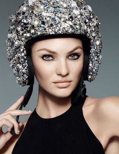 SWAROVSKI S/S 2013 Ad CampaignModel: Candice Swanepoel Photographer: Nick Knight  More from this campaign.