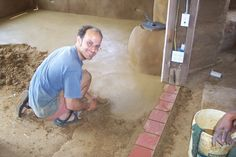rammed earth construction techniques | Rammed Earth Flooring