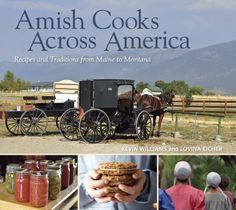 Amish Cooks Across America - The Amish have created communities that live off the land all across the United States, not just in Pennsylvania, Indiana, and Ohio. Lovina Eicher lives with her husband and eight children in Michigan. Together with Kevin Williams, her co-author of the Club favorite The Amish Cook's Baking Book, Lovina takes us on a delicious, nationwide tour of uniquely American regional cooking inextricably linked to local ingredients. What might surprise you most about Amish…