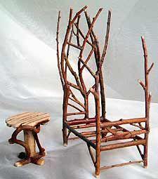 Twig Fairy Furniture   FAIRY-ISH: fairy furniture: fantastic finds