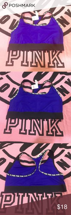 VS PINK BRALLETE BRA MEDIUM NWT❤️ Victoria's Secret pink medium bralette  brand-new with tags's ships fast shipps  today ❤️ PINK Victoria's Secret Intimates & Sleepwear Bras
