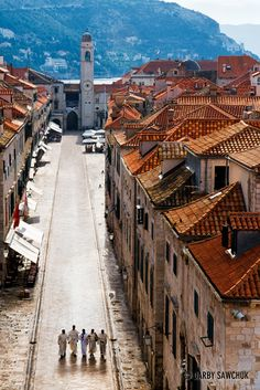 Stradun, Dubrovnik's old town, Croatia great city! Montenegro, The Places Youll Go, Places To See, Phuket City, Monuments, Dubrovnik Old Town, Ibiza Town, Old Town Alexandria, Croatia Travel