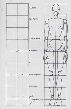 Drawing Pencil Portraits - grille de proportion et mannequin bois femme Discover The Secrets Of Drawing Realistic Pencil Portraits Proportions Du Corps, Drawing Body Proportions, Human Body Drawing, Human Figure Drawing, Drawing Skills, Drawing Lessons, Drawing Techniques, Drawing Tips, Portrait Au Crayon