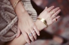gold ring - Dear Rae