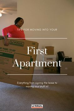 Moving into your first apartment can be an intimidating process. You're moved out of college, your parents are no longer there to hold your hand and this is your money on the line now. So you need to be more than prepared! Click through to use these tips. First Apartment, Apartment Living, Everything, Parents, College, Money, Tips, 1st Apartment, Dads
