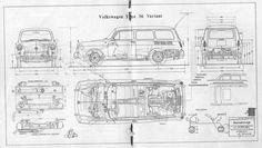 1962 VW Type 36 Variant