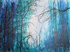 Another large work based on the trees of Fernhill.