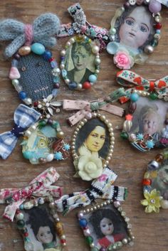 I love these cameos by Julie Arkell....
