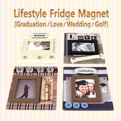 Lifestyle Fridge Magnet (4pcs) 라이프스타일 냉장고자석(4개묶음)