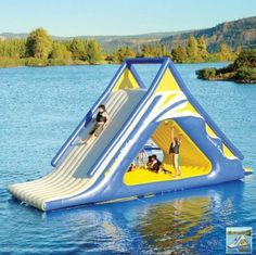 Very Cool Things (10 Pics   1 Video) Wow, what a great design for fun on a lake!