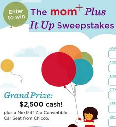 The Mom Plus It Up Sweepstakes - Sweeps Maniac