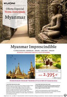Myanmar Imprescindible * Venta Anticipada * 12 días/9 noches desde 2.395 € + tasas ultimo minuto - http://zocotours.com/myanmar-imprescindible-venta-anticipada-12-dias9-noches-desde-2-395-e-tasas-ultimo-minuto/