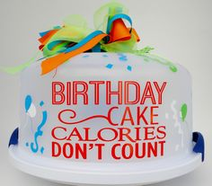Cake CarriersBirthday Cake CarrierCake ContainerBaked by kdbcrafts Cricut Craft Room, Cricut Vinyl, Vinyl Decals, Silhouette Vinyl, Silhouette Cameo Projects, Vinyl Crafts, Vinyl Projects, Craft Projects, Cupcake Carrier